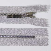 Zip kostěný 4mm délka 16cm, barva 031 (nedělitelný)
