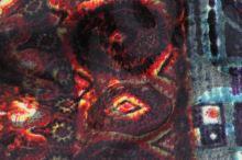 Úplet šedý 15090, barevný vzor š.150