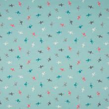 Úplet mint, farebné drobné baletky, š.145