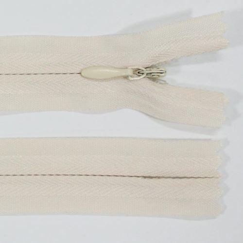 Zip skrytý 3mm délka 18cm, barva 306
