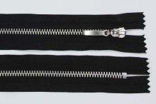 Zips kovový 4mm chróm dĺžka 16cm, farba 332