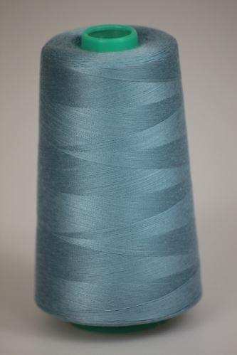 Niť KORALLI polyesterová 120, 5000, odtieň 5220, modrá