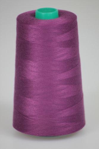 Niť KORALLI polyesterová 120, 5000Y, odtieň 3760, fialová
