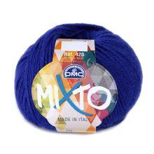 Priadza MIXTO 50g, modrá - odtieň 073