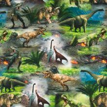 Úplet farebný, dinosaury, š.155
