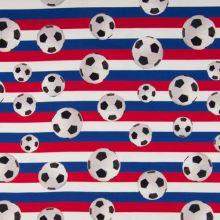 Úplet fotbalové míče na trikolóře, š.155