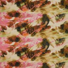 Satén ružovo-hnedý, š.145