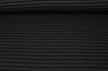 Úplet černý, šedá srdíčka š.155