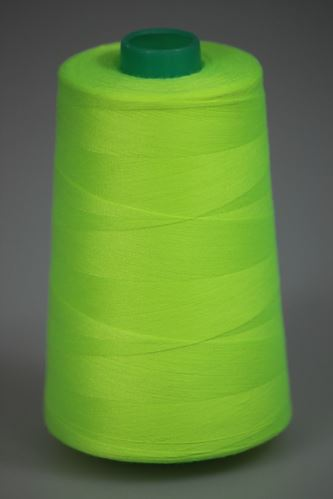 Nit KORALLI polyesterová 120, 5000Y, odstín 6820, zelená