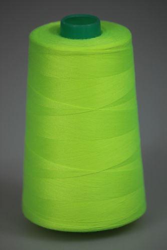 Niť KORALLI polyesterová 120, 5000Y, odtieň 6820, zelená