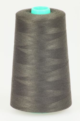 Nit KORALLI polyesterová 120, 5000Y, odstín 8770, hnědá
