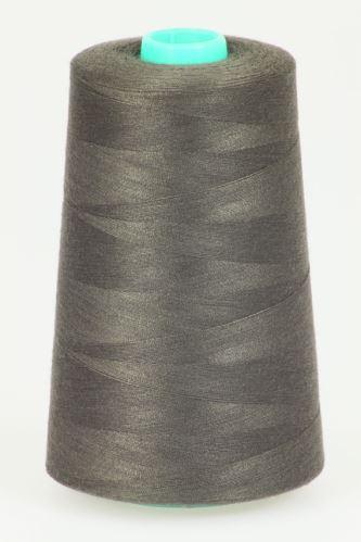 Niť KORALLI polyesterová 120, 5000Y, odtieň 8770, hnedá