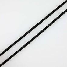 Pruženka klobouková černá, šíře 2mm