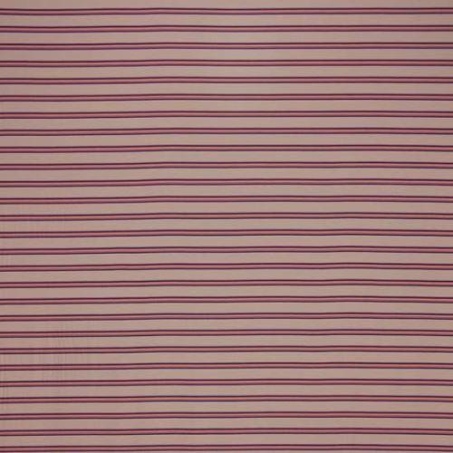 Úplet světle růžový, barevný pruh š.165
