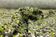Šatovka 08254 šampáň, zelenošedý vzor š.140