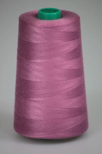Niť KORALLI polyesterová 120, 5000Y, odtieň 3720, ružová