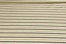 Košilovina 06448 béžová, hnědý pruh, š.140