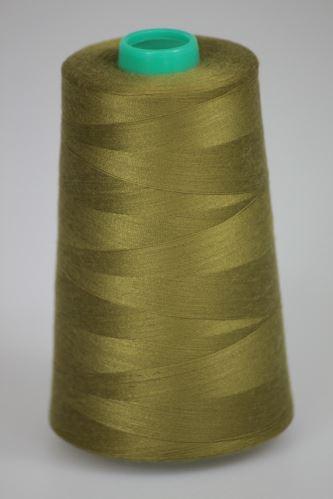 Niť KORALLI polyesterová 120, 5000Y, odtieň 6870, zelená