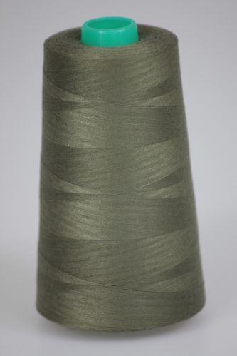 Nit KORALLI polyesterová 120, 5000Y, odstín 7670, zelená