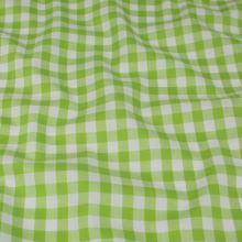 Kanafas světle zeleno-bílý, š.145