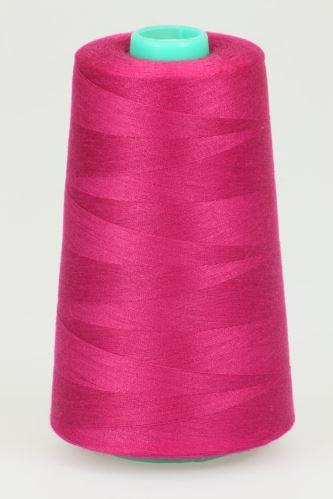 Niť KORALLI polyesterová 120, 5000Y, odtieň 3650, ružová