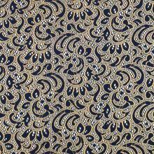 Čipka modro-zlatá, š.145
