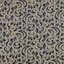 Krajka modro-zlatá, š.145