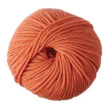 Priadza WOOLLY 5 50g, oranžová - odtieň 10