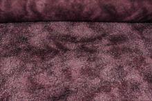 Kožešina růžovo-vínová, š.145