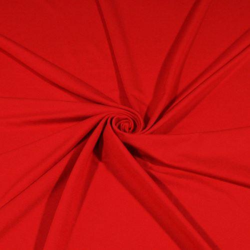 Úplet oranžovo-červený 16744, 250g/m, š.155