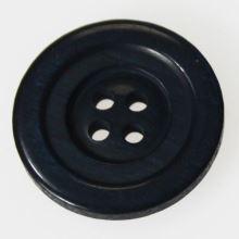 Knoflík modrý K36-14, průměr 23 mm.