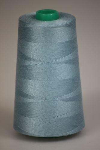 Niť KORALLI polyesterová 120, 5000Y, odtieň 5340, modrá