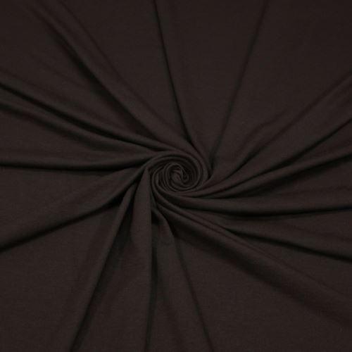 Úplet tmavo hnědý 17062, 210g/m, š.150