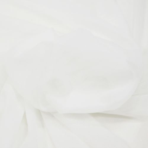 Elastický tyl opticky bílý, š.145