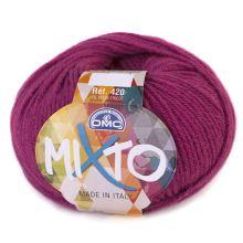 Příze MIXTO 50g, tmavě růžová - odstín 042