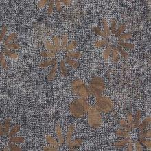 Kostýmovka šedá, hnědý květ š.145