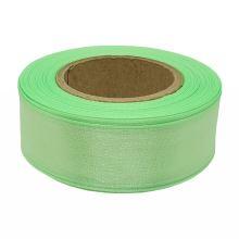 Stuha monofilová s vlascem zelená, šíře 25mm, 25m
