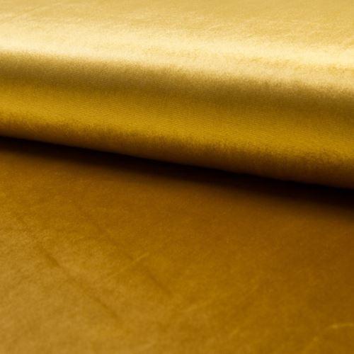 Zamat DE LUXE žltý, 260g/m, š.145