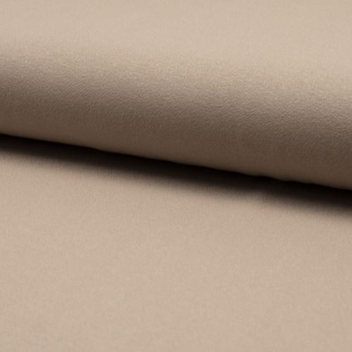 Úplet žoržet DE LUXE mocca, 260g/m, š.145
