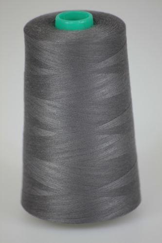 Niť KORALLI polyesterová 120, 5000Y, odtieň 9540, šedá