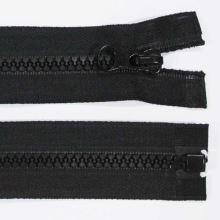 Zip kostěný 5mm délka 90cm, barva 332 (dělitelný)