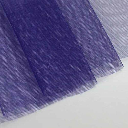 Tyl lesklý N3261, modro-fialový š.155