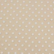 Vyšívaný tyl bílý, drobné kytičky, š.125/140