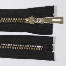 Zip kostěný 5mm délka 60cm, barva 332 (dělitelný)