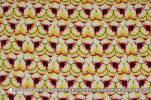 Šatovka červeno-žlté kvety, š.140
