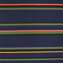 Úplet 19344, barevné pruhy, š.155