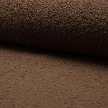 Froté hnedé, bavlnené, 340g/m, š.150