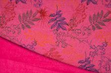 Warmkeeper růžový, barevné listy, š.145