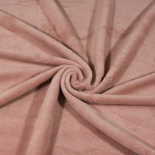Froté růžové, oboustranné, 370g/m, š.150