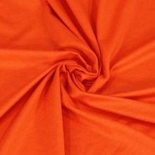 Úplet oranžový 10956, 210g/m, š.160